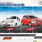 Seguro para auto GRATIS por un año CHEVROLET SPARK models - 10sep14