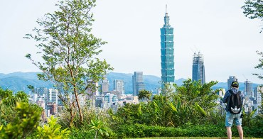 台北旅遊︱福州山公園.眺望信義區市景、台北101跨年景觀好去處