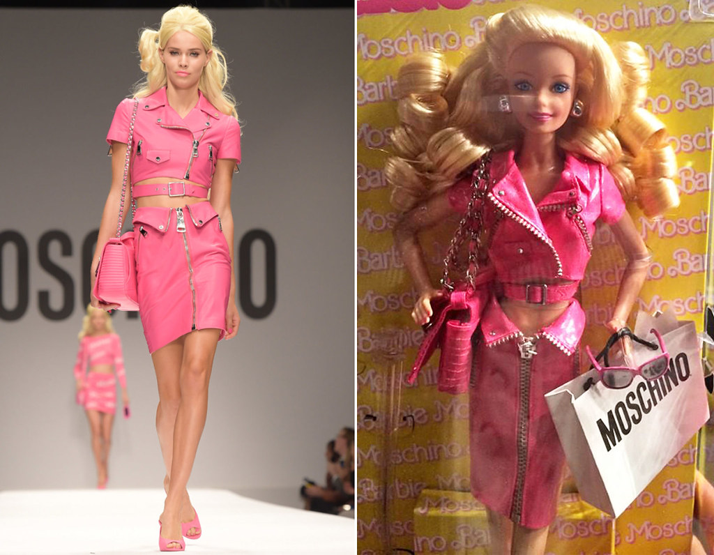 Moschino Barbie  New Moschino collection is Barbie