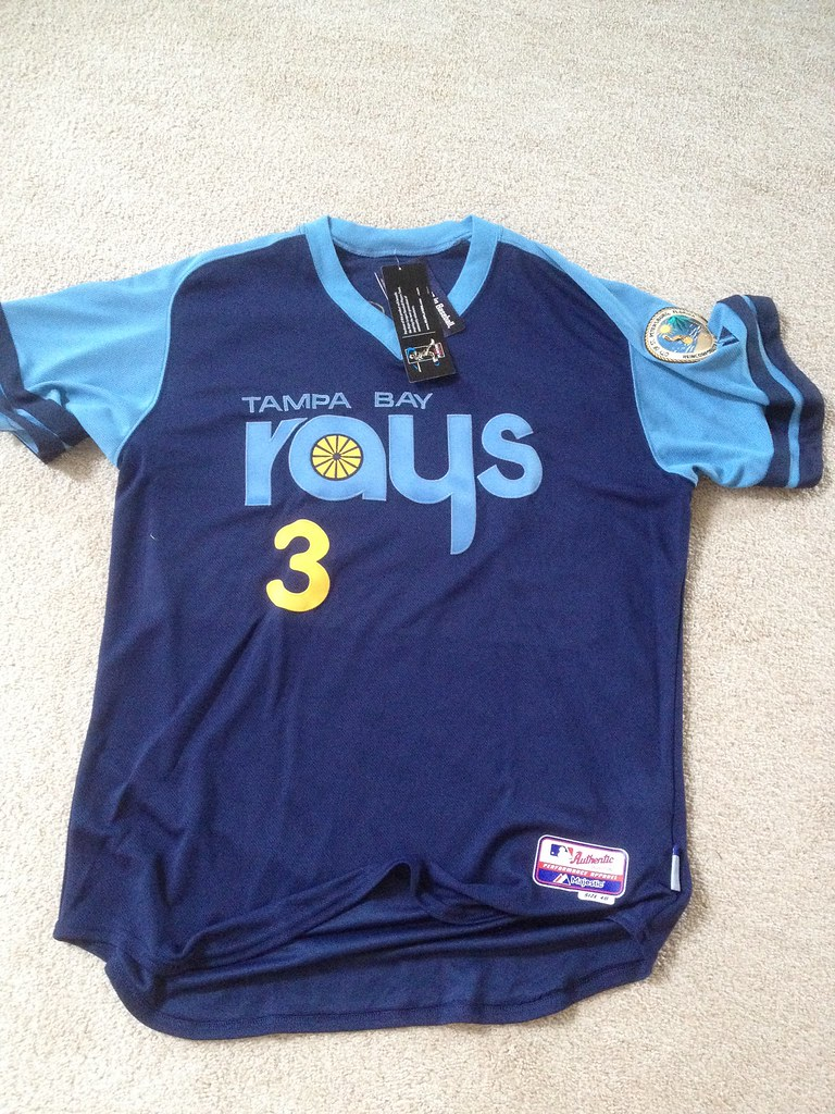 2014 Authentic Tampa Bay Rays Throwback Turn Back The Cloc  Flickr