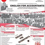 Course ENGLISH FOR ACCOUNTANTS - 10sep14