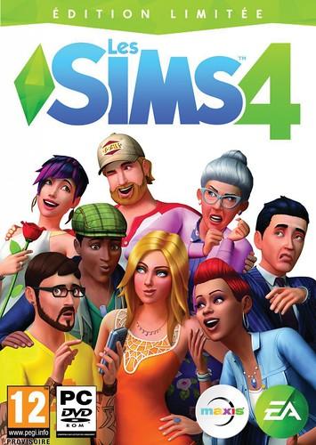 Pochette Les Sims 4