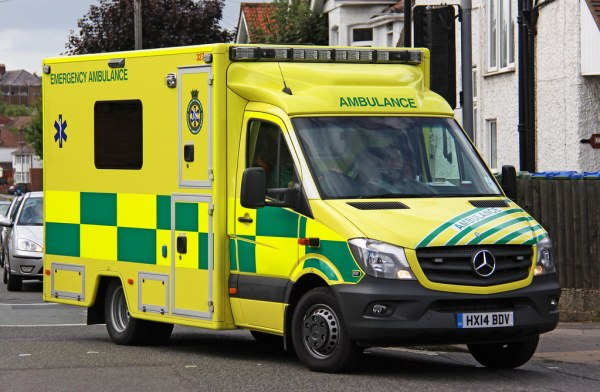 UK Specialist Ambulance Service Facelift Mercedes Sprinter Emergency Ambulance