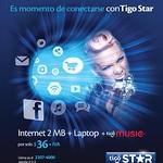 Promocion TIGO star internet mas laptop mas tigo music - 16ago14