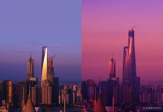 Shanghai Tower 2012-2014