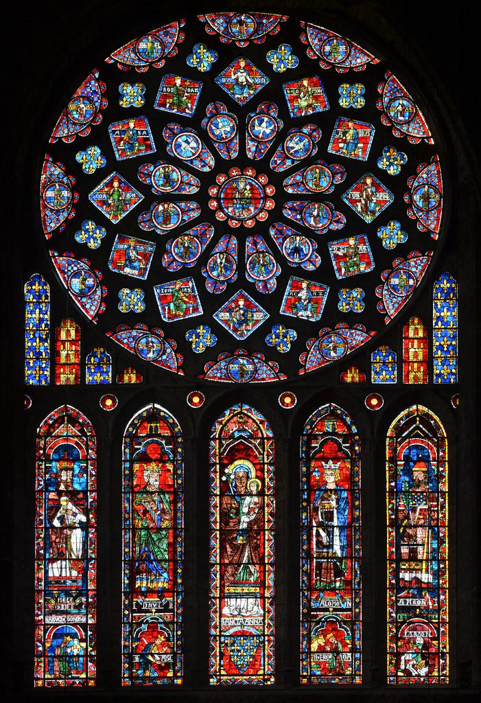 Baie 121 vitraux de la cathdrale NotreDame de Chartres  Flickr