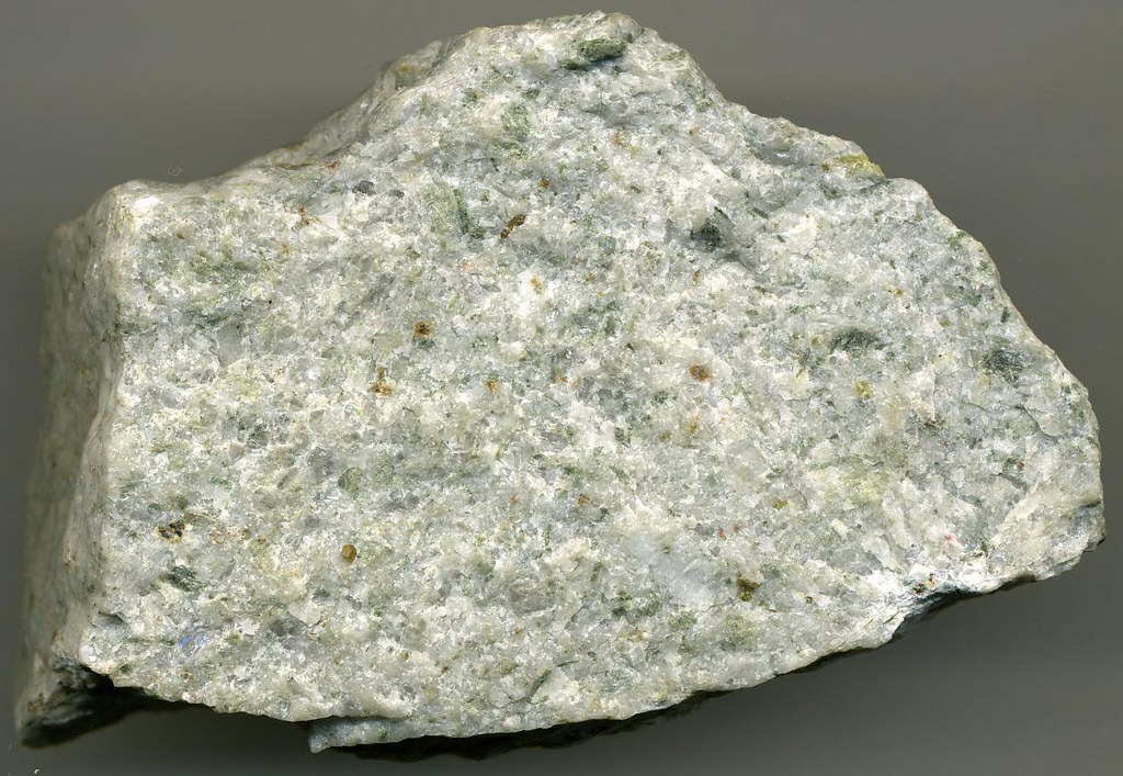 NaCa altered porphyritic granite Yerington Batholith Mi