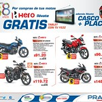 TABLET mas TV por tus compras de MOTOS PRADO - 25jul14