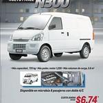 Microbus chevrolet n300 promotions - 11sep14
