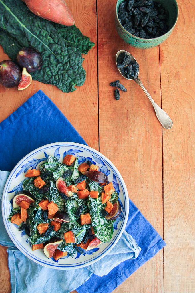 recette de salade de kale