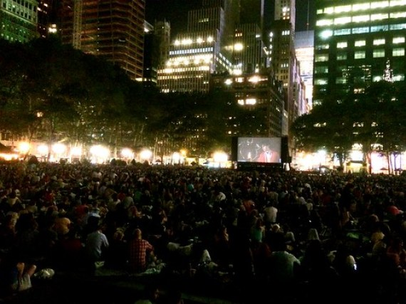 The HBO Bryant Park Summer Film Festival