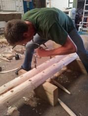 reaming ladder rung holes