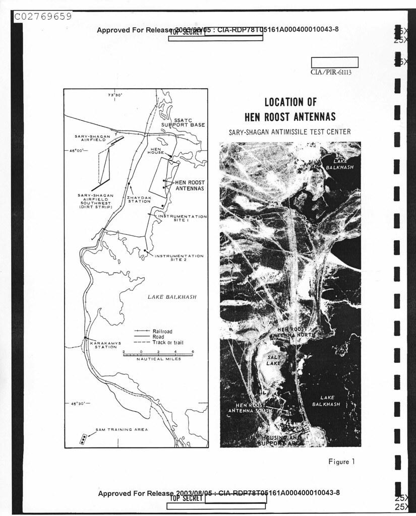 Sary Shagan Missile Test Range Area 15 & 16 / Radar Site 2
