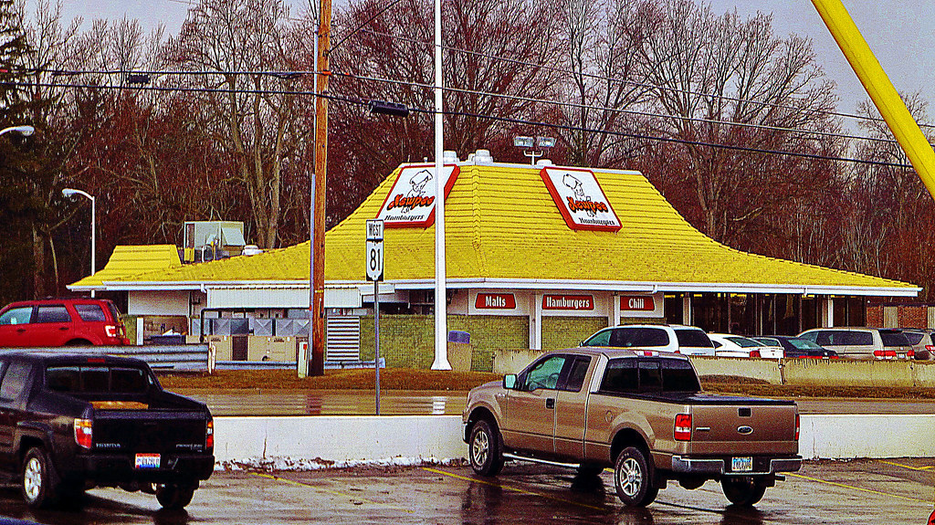 Kewpee Hamburgers  This restaurant was opened in 1972
