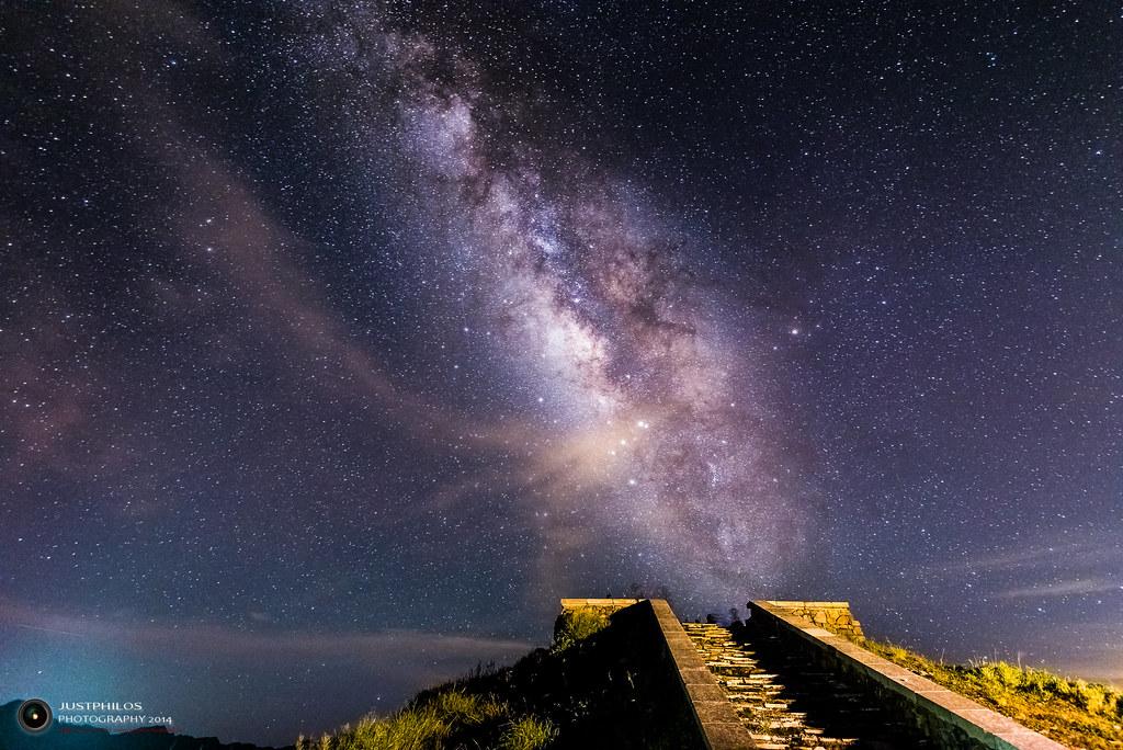 合歡山主峰夏季銀河 | 合歡山主峰銀河 Milky Way@Hehuan Mountain in Taiwan | Philos Chen | Flickr