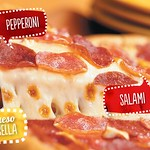 La original PIZZA hot cheese PIZZA HUT promociones