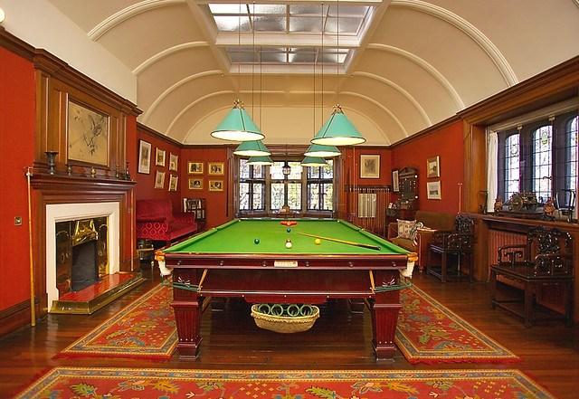 Olveston billiard room