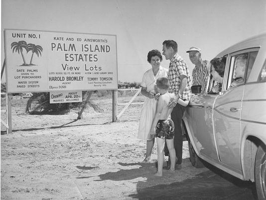 Salton Sea  realestatesignandfamily  A family is