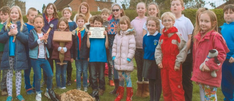 Burying of the Time Capsule