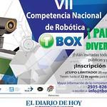 Competencia nacioanl de robotica 2014 TBOX parque de diversiones - 13ago14