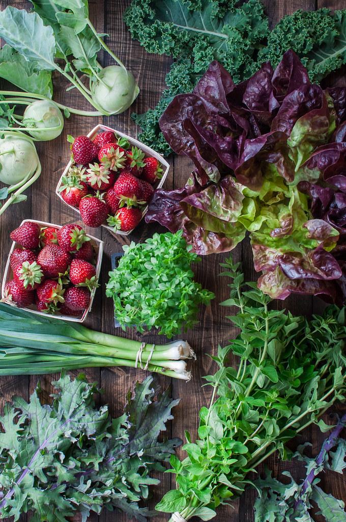 Summer recipes for seasonal farmer's market produce finds