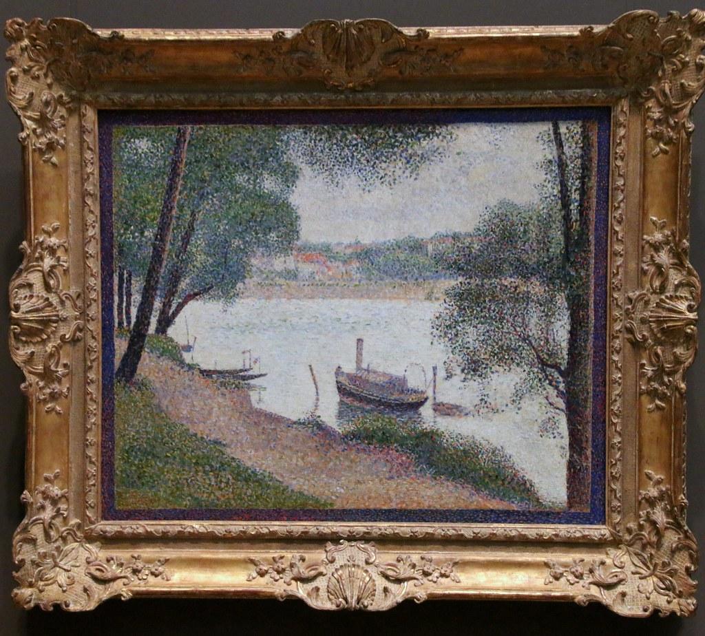 Metropolitan Museum of Art Seurat Gray Weather Grande J