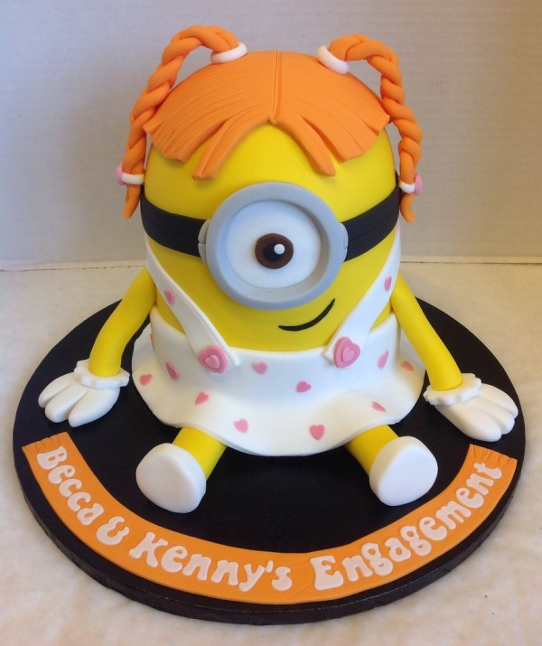 Minion Girl Cake Number 2 Vtwctr