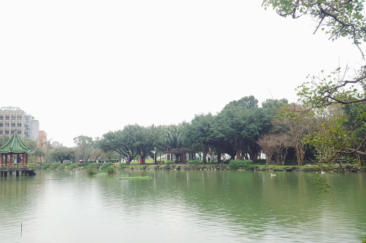 lake at national taiwan university