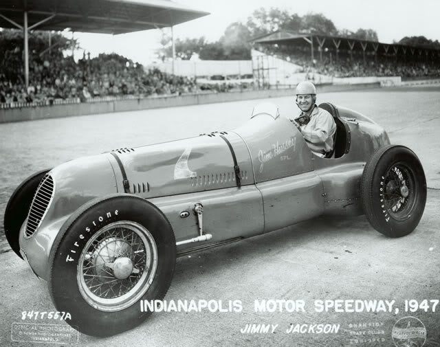 Jimmy Jackson 1947 Indy New in 1928 FD Millerfor Boyle