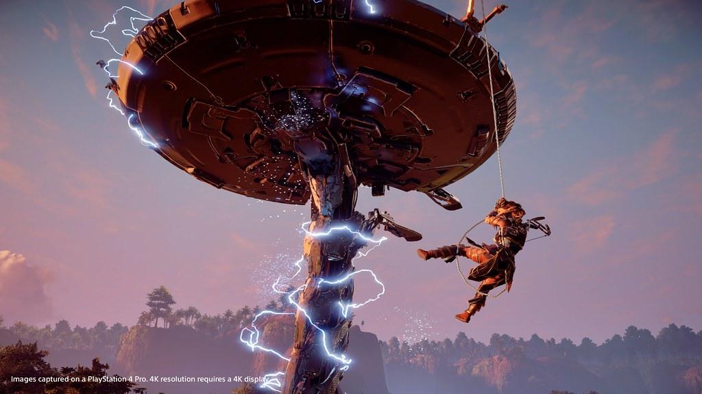 Horizon Zero Dawn PS4 Pro Enhancements Detailed 2
