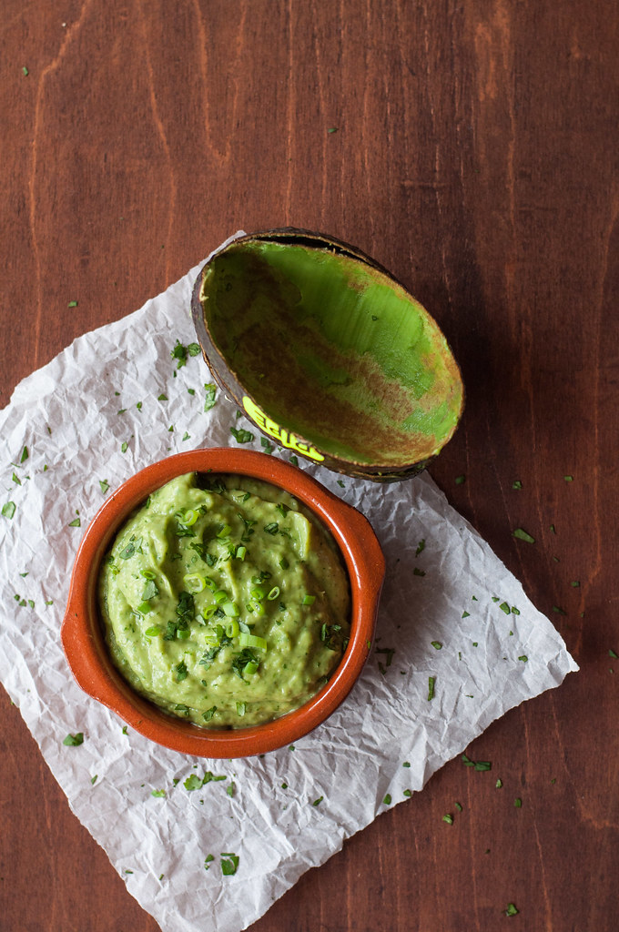 Tangy avocado dip to spice up quesadillas, morning eggs, or your next picnic