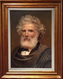 Autorretrato 1873. Eugenio Landesio. Altessano Ca