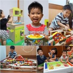 Kid Kraft Play Kitchen Best Hood Mentari 兒童安全木製玩具 美味料理廚房組及火車道岔建構城市組 小孩樂 小孩樂開懷 玩翻天