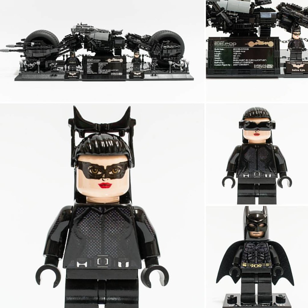LEGO CUSTOM MINIFIG By ZEROfrom ZEROBAEK THE DARK KNIGHT