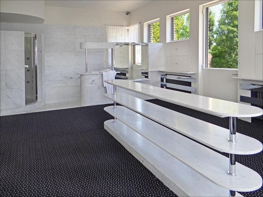 La grande salle de bains Villa Cavrois Croix  La salle d  Flickr