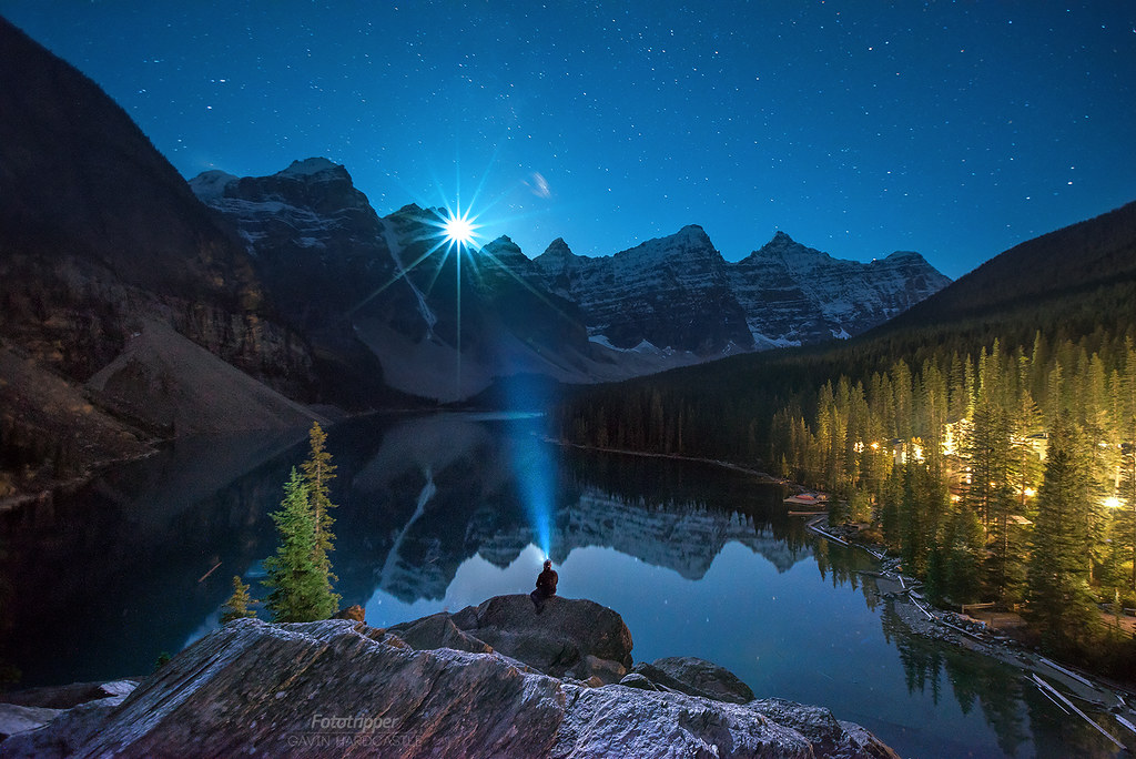 Numa Falls Canada Wallpaper Moraine Moonset Moraine Lake Has Got To Be The Most Over