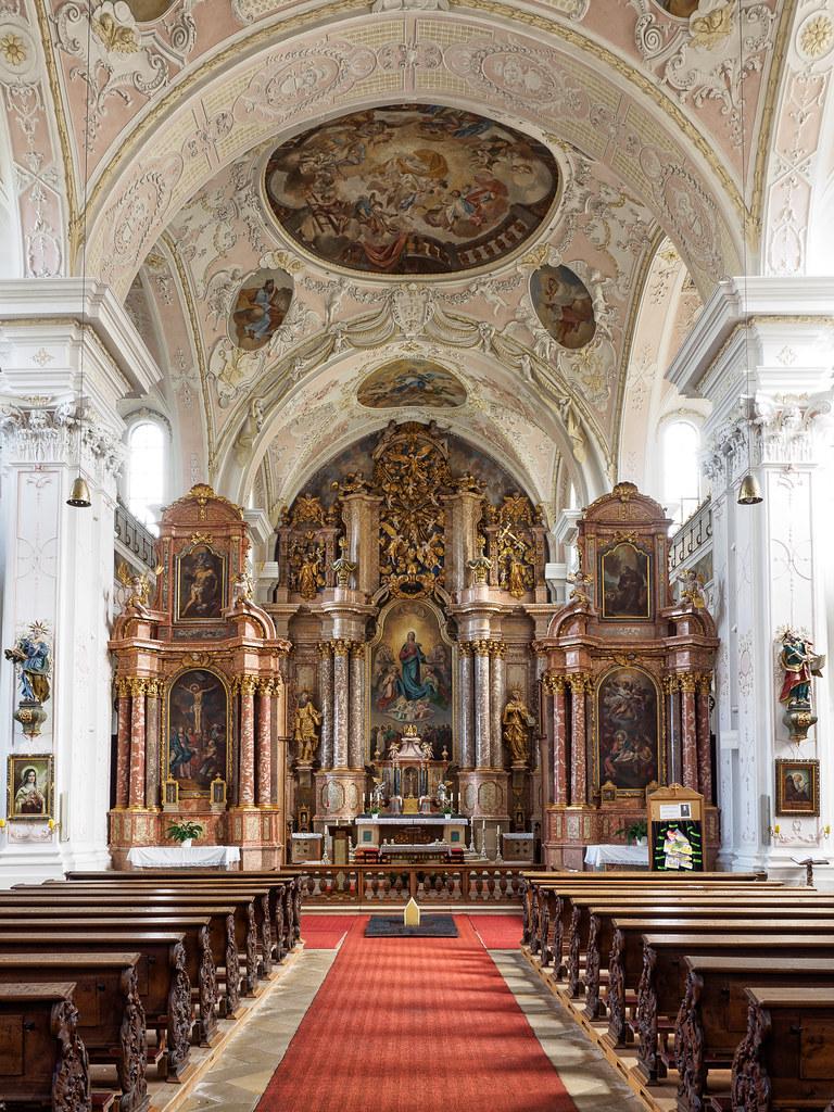 Kloster Pielenhofen  Klosterkirche  Die barocke Kirche