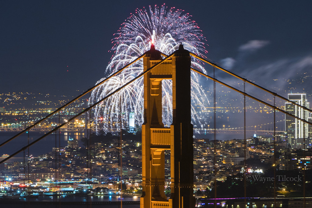 SF New Years 2016  New Years fireworks over San Francisco   Flickr