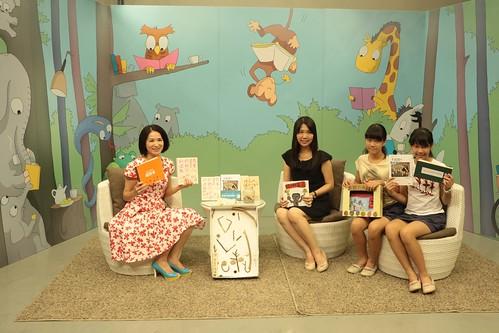 硬著頭皮上節目:溫美玉老師主持的「非讀Book臺南愛讀冊」