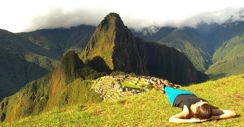 Mariana Costa en Machu Pichu.