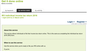 Steps To Apply New Zealand IRD – All about New Zealand Working Holiday
