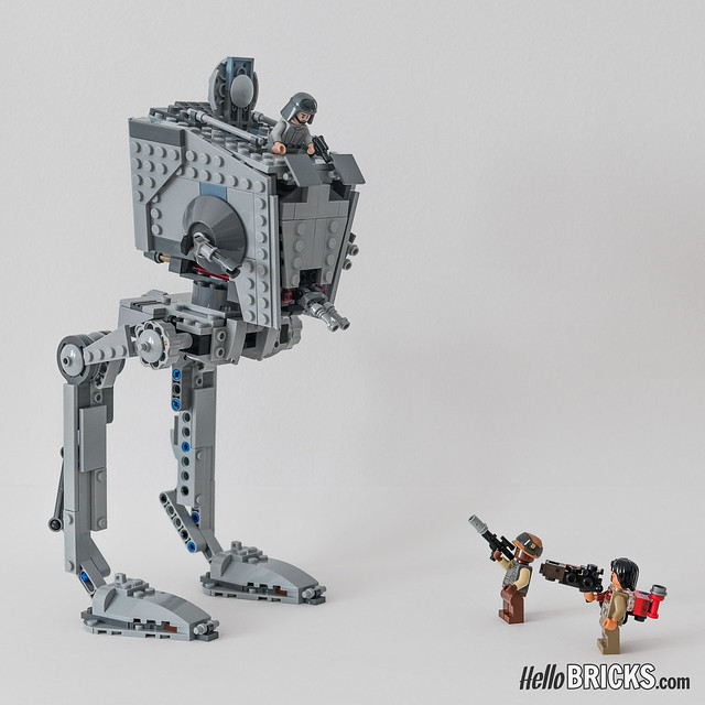 Review LEGO 75153 AT-ST Star Wars Rogue One HelloBricks