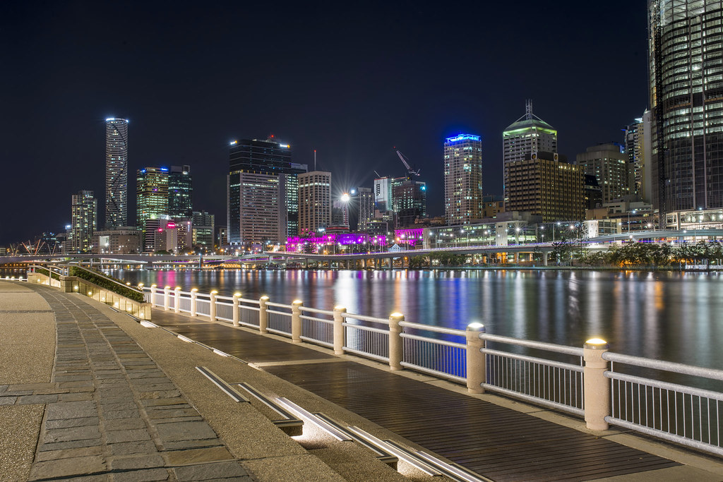 South Bank Brisbane If You Went For A Night Time Stroll