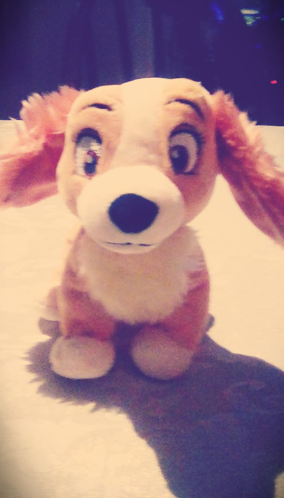 Lady and the Tramp II Scamps Adventure Colette plush fro