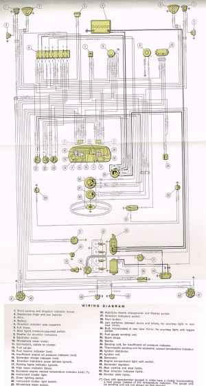 Wiring Diagram Fiat 850 Special | Electrical Diagram