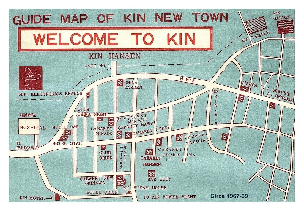 WELCOME TO OLD KINVILLE in LATE 1960s OKINAWA  Welcome
