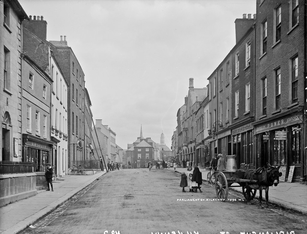 Parliament St Kilkenny  Parliament Street in Kilkenny is