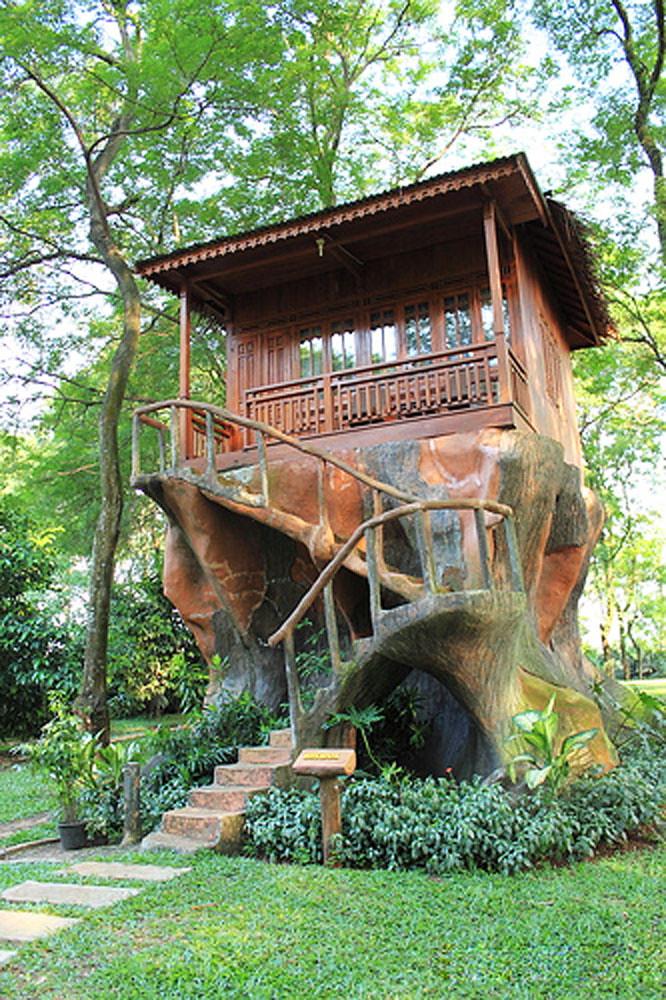 Rumah Pohon Taman Dayu : rumah, pohon, taman, Amazing, Treehouses, Indonesia, Actually