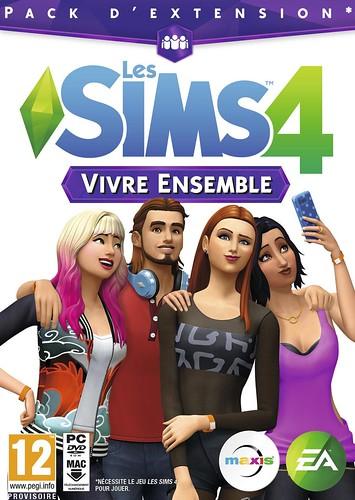 Pochette Les Sims 4 Vivre ensemble
