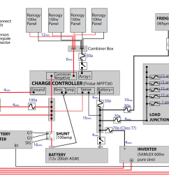 wiring diagram moreover solar battery charger circuit diagram battery wiring diagram furthermore off grid solar battery bank wiring [ 2600 x 1635 Pixel ]